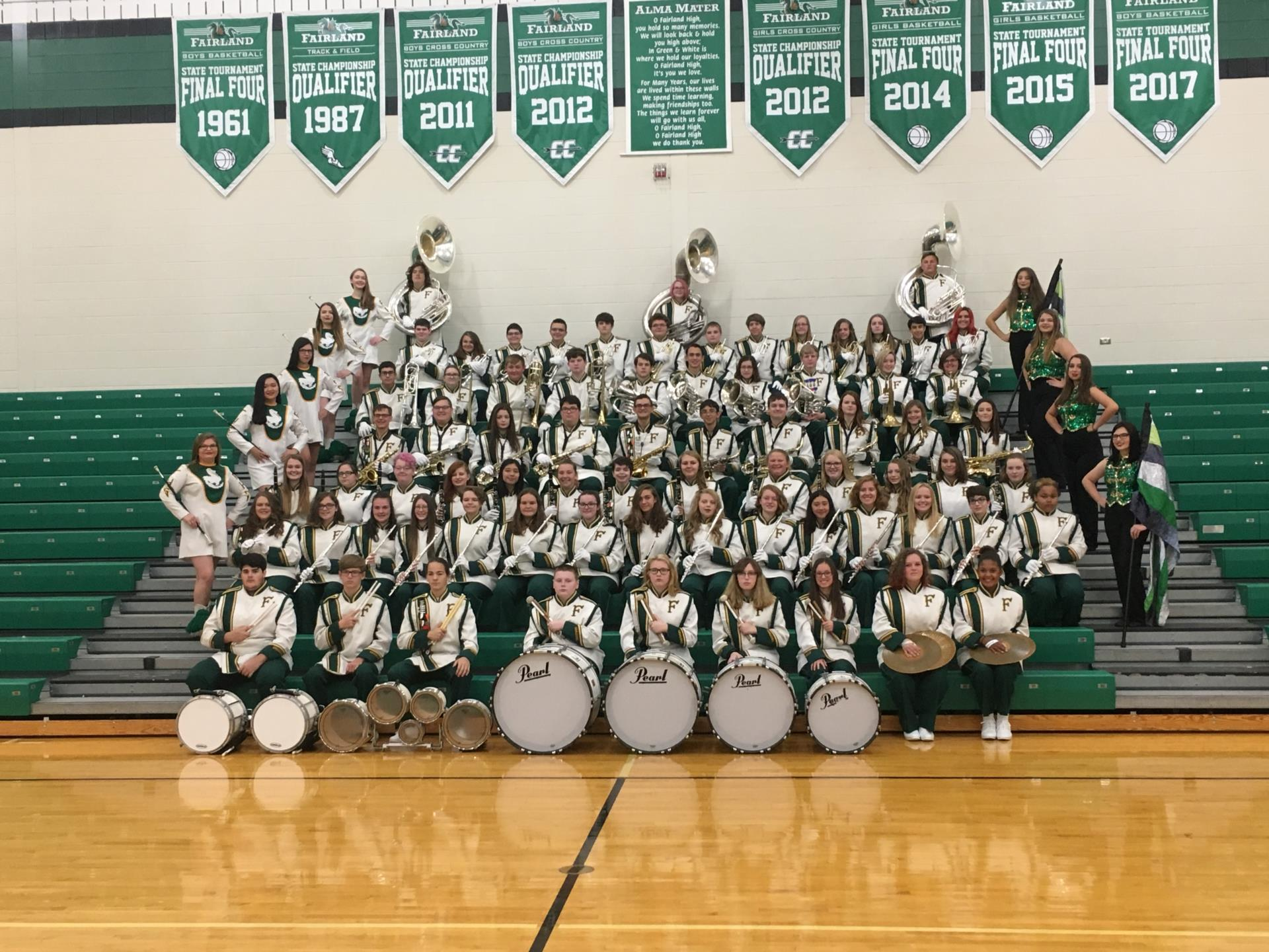 Fairland HS Marching Band Photo 2018-19