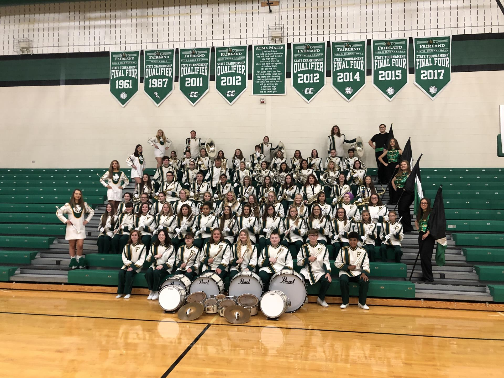 fairland marching band phote 2019
