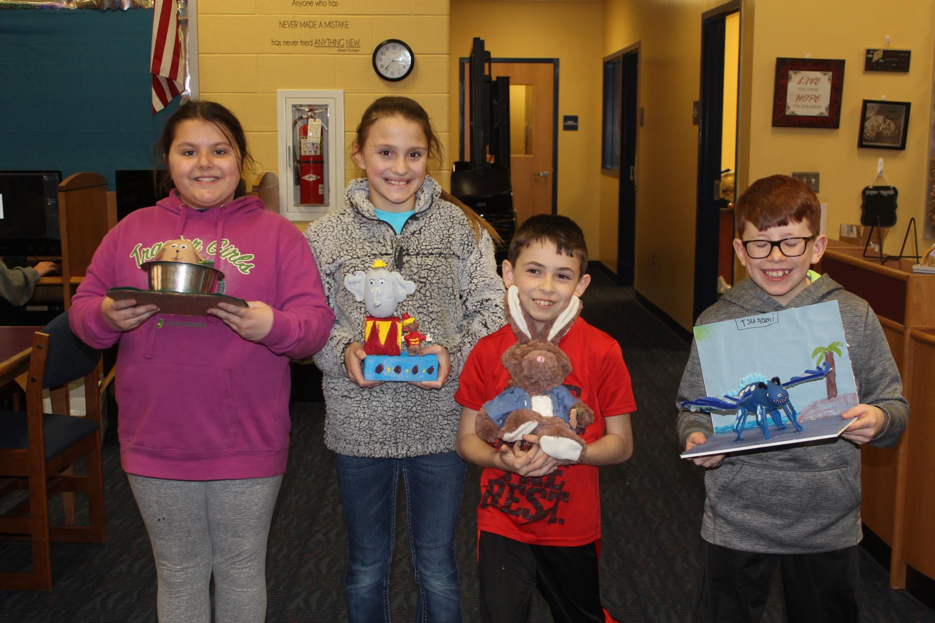 4th Grade Winners