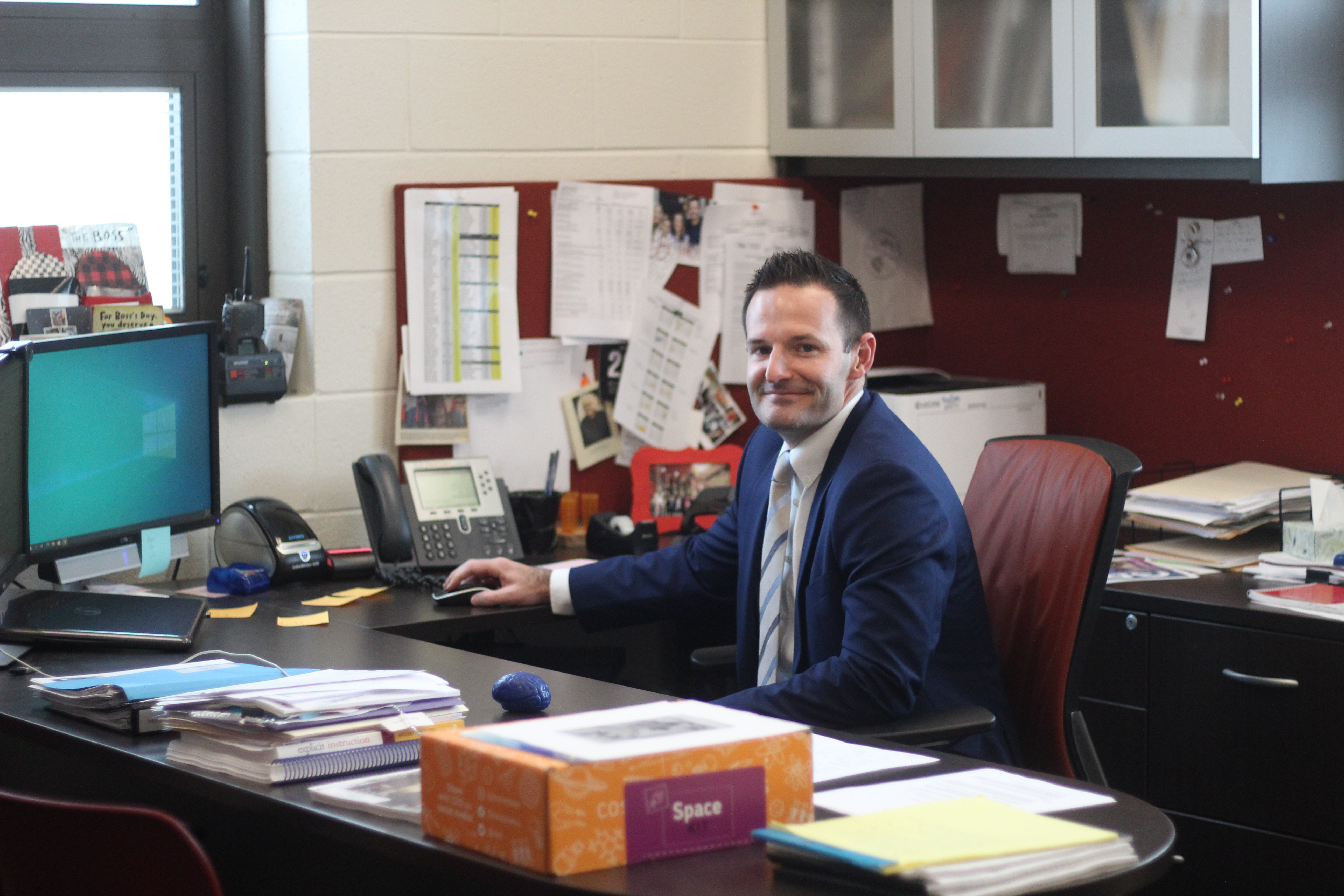 Jonathan Davis will complete his role as Circleville City Schools superintendent July 9.