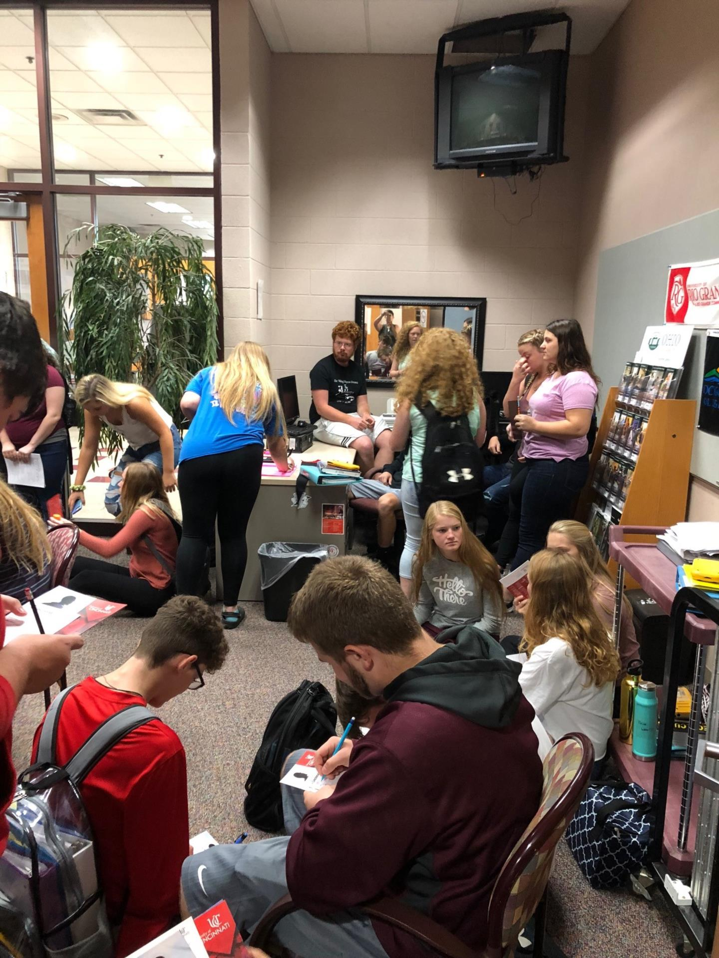 University of Cincinnati Visit to VCHS