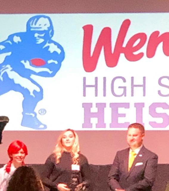 Lambert chosen as Wendys High School Heisman Winner