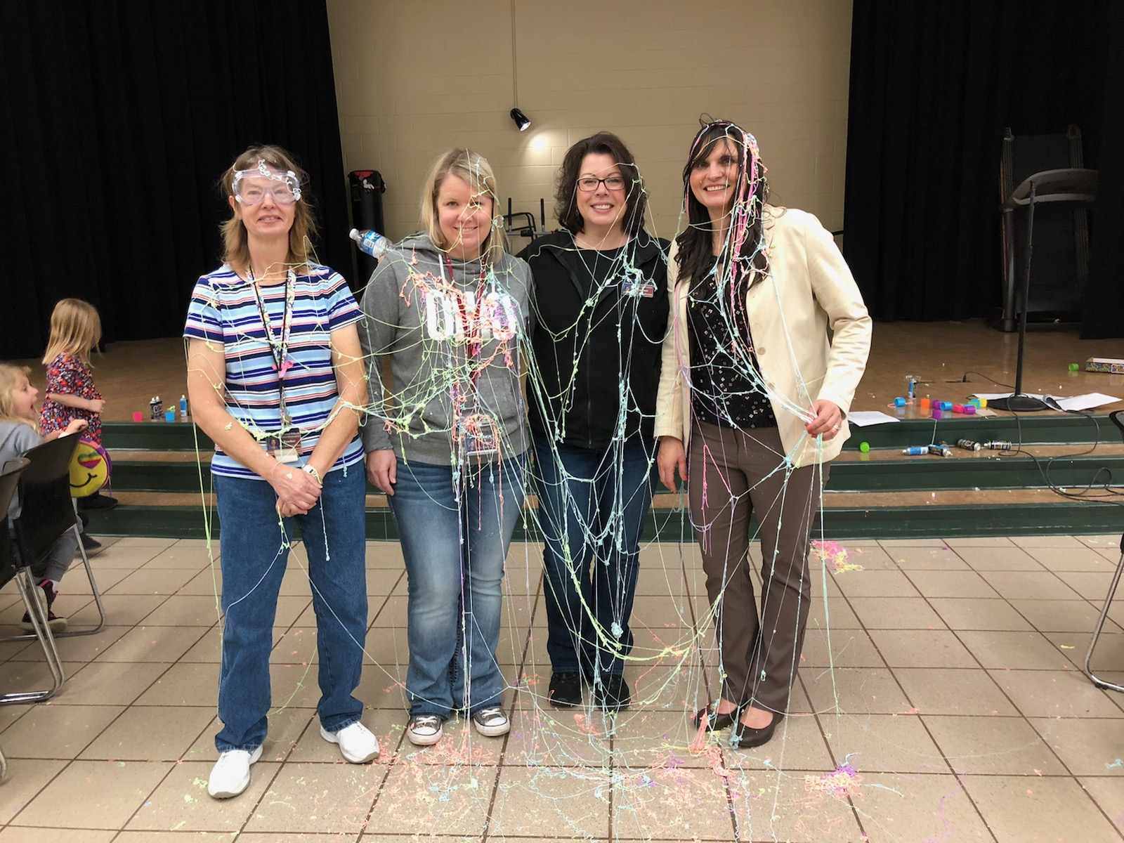Silly String the Staff