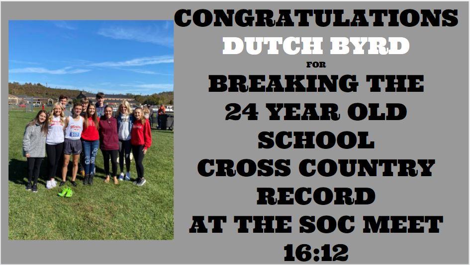 Dutch Byrd Breaks Record