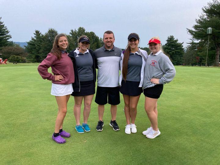 Girls Golf Team 2021