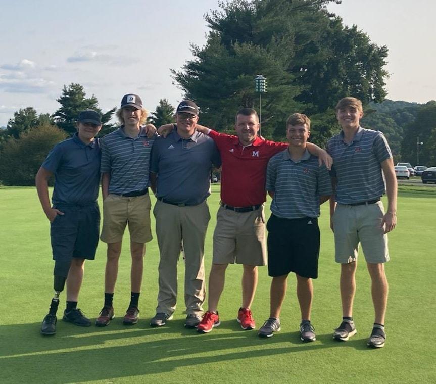 Golf Team Pic 2021