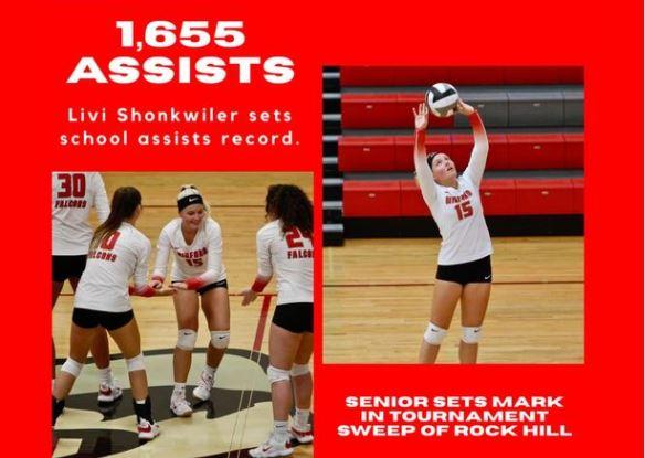 Livi Shonkwiler Sets Record