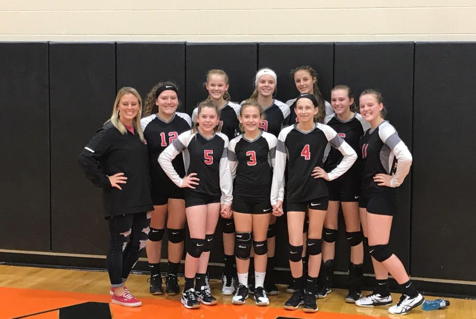 MS Volleyball Team 2018 - 2019