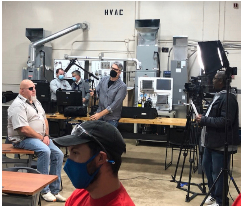 Rod Haven takes part in Buckeye Educational Systems' videos.