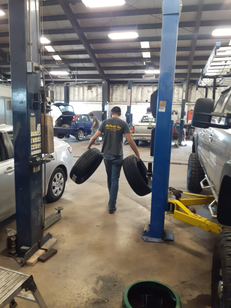 Glenn Scott is on job placement at Perfection One in Circleville.